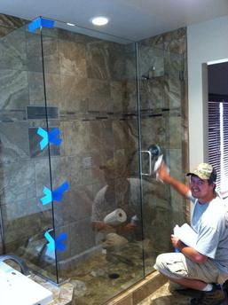 shower door installation frameless flagstaff