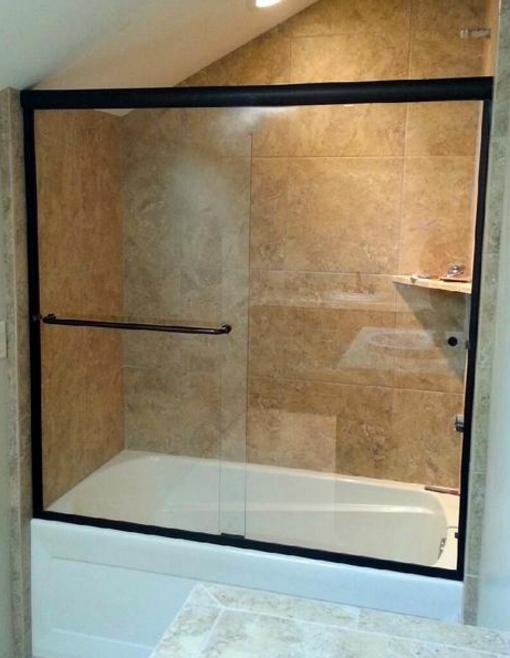 THE ROCK Glass & Mirror Co. (928) 527-3333 SHOWERS DOORS